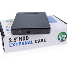 ?#34892;?#31227;动硬盘盒子USB2.0笔记本2.5寸串口SATA外接移动硬盘盒外壳