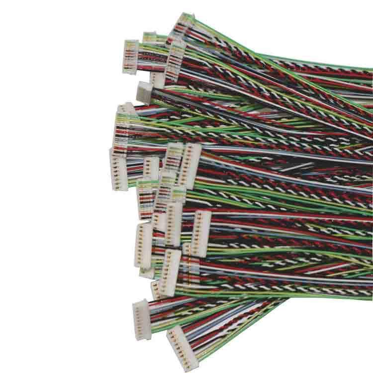 0.8mm间距刺破式线束10P刺破式连接器端子线0.8连接线双头10P刺破