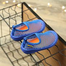 厂家直销新款童鞋 韩版男童女童单网透气?#21487;?#36816;动鞋儿童超轻网鞋