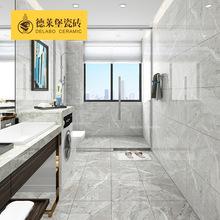 灰色通體負離子瓷磚800 廚衛大理石墻磚400x800 防滑耐磨 羅馬灰