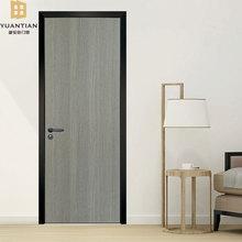 佛山厂家室内卧室平开门 免漆?#30340;?#22797;合门 套装门 隔音铝框生态门