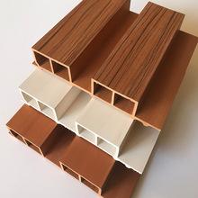 綠可木高大小長城板吊頂天花生態木護墻板墻裙背景扣板背景墻