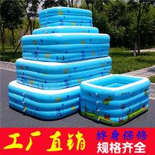 盈泰儿童充气游泳池pvc充气水池大型成人户外游泳池批发