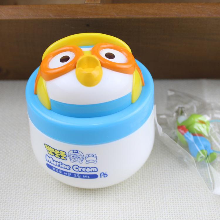 韩国正品 Pororo啵乐乐儿童海洋面霜 温和补水保湿润肤膏卡通面霜