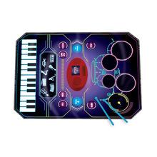 幼兒童早教爵士架子鼓電子琴音樂毯女男孩樂器寶寶玩具禮物初學者