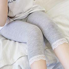 2020童裝夏季薄款女童莫代爾打底褲中小童小學生童褲外貿一件代發