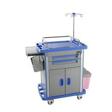 厂家直销多功能护理车 ABS手推车 医用换药输液小推车