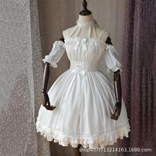 魔法茶会「芭蕾风」原创正品lolita洛丽塔洋装女日常连衣裙全套