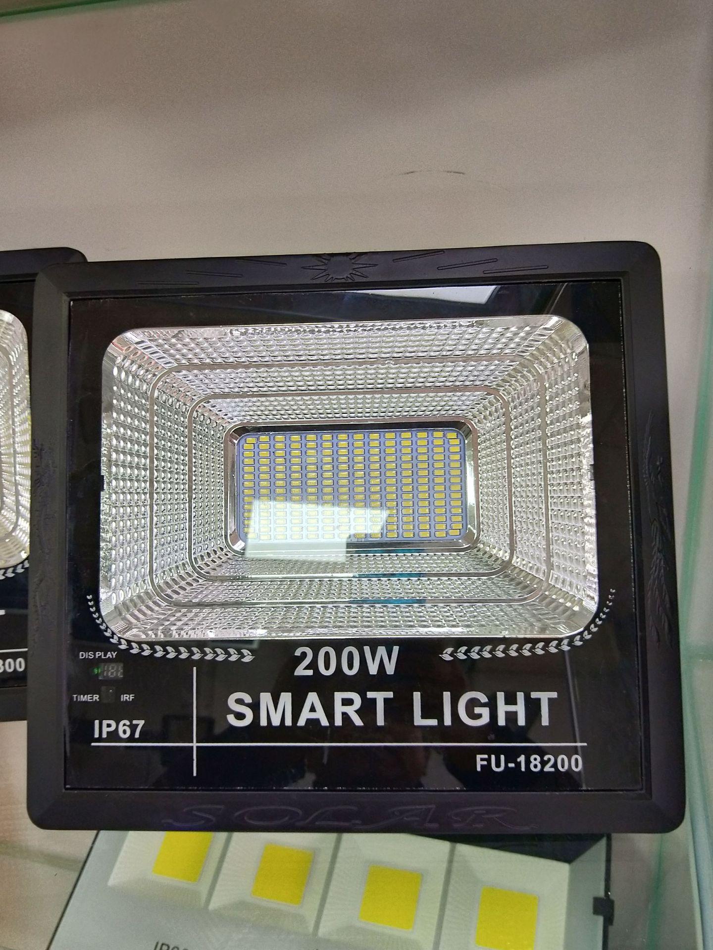 led太阳能投光灯200W户外防水节能投光灯庭院公园舞台led投光灯