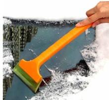汽车用牛筋雪铲除冰铲 多功能伸缩车载 牛筋铲长柄折叠刮雪器冬季