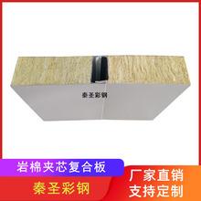 山东厂家直销 1150mm高密度岩棉净化板 无尘室专用机制岩棉复合板