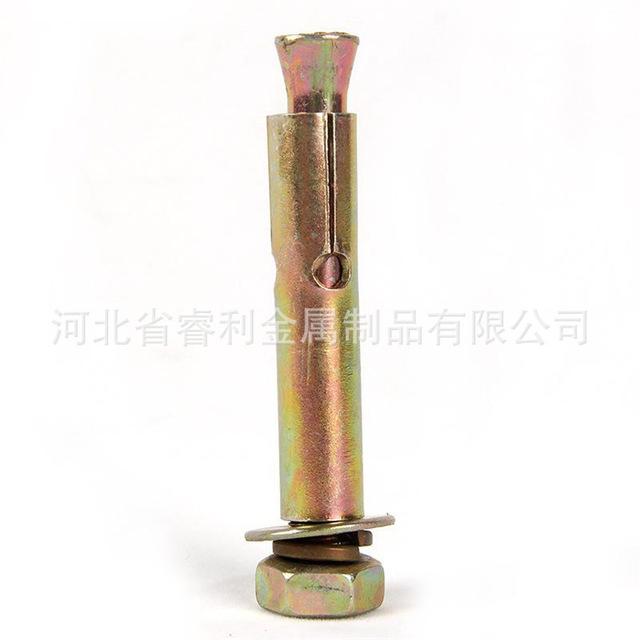 源头厂家 带孔镀彩膨胀螺丝膨胀螺栓拉爆内膨胀膨胀栓 价格优惠