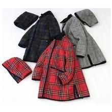 特价!日本潮牌秋冬圣诞季新品 刺绣标中长款连帽棉衣外套秋冬3色