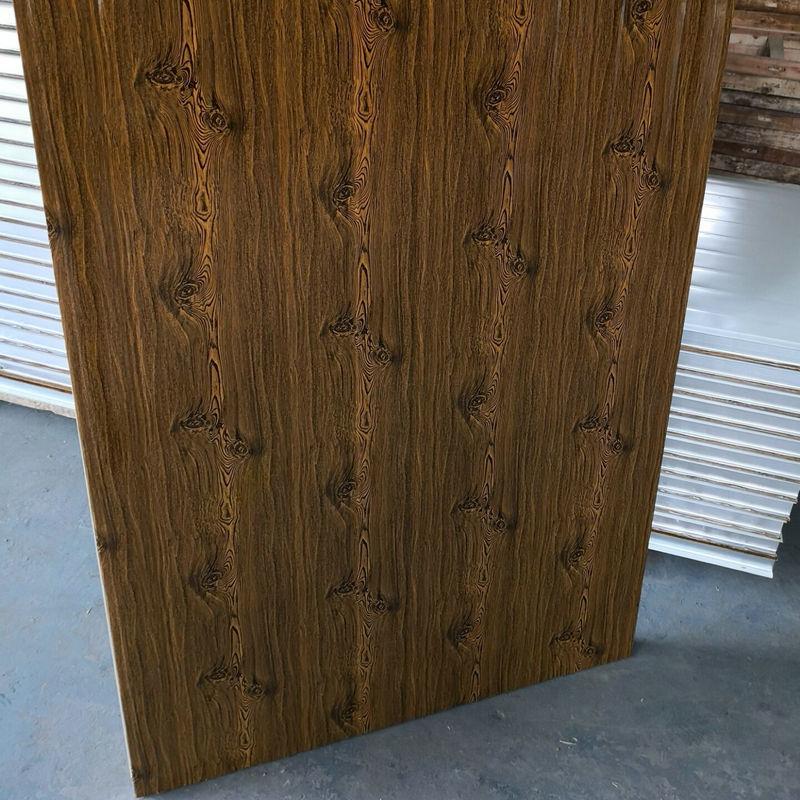 大量供应 防火岩棉彩钢钢板 玻镁岩棉彩钢板 岩棉夹心彩钢板