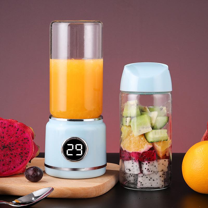 迷你型家用榨汁机便携果汁杯多功能豆浆料理机电动水果辅食榨汁杯