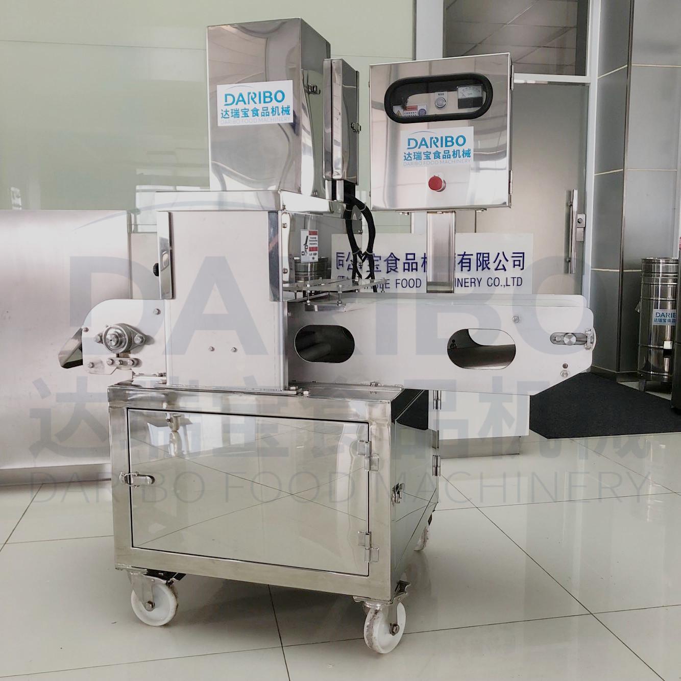 l原形虾糕合成设备仿干贝机 关东煮人造海味切割机 肉类圆压片机