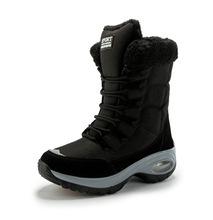 源頭廠家一件代發跨境大碼女棉鞋加絨高幫雪地靴冬季女棉鞋