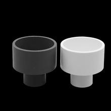 PVC给水异径直接 变径套大小头 给水管配件接头变径  白 灰