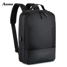 2019新款男背包backpack商务多功能双肩包男usb笔记本电脑包