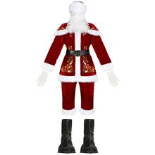 M-3XL男款圣誕節演出服 成人衣服 男圣誕老人圣誕服裝 圣誕節服裝