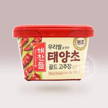 韓國進口好餐得太陽椒中辣辣椒醬500g韓式石鍋拌飯炒年糕醬甜辣醬