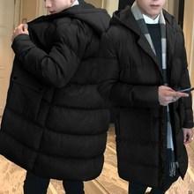 2018新款冬季男士外套棉衣韩版棉服中长款面包服大棉袄子男装潮流
