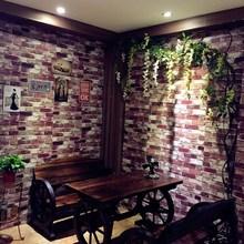 ?#20449;?#23401;宿舍自粘3d现代简约砖头韩国背景墙壁纸自粘卧室温馨10米