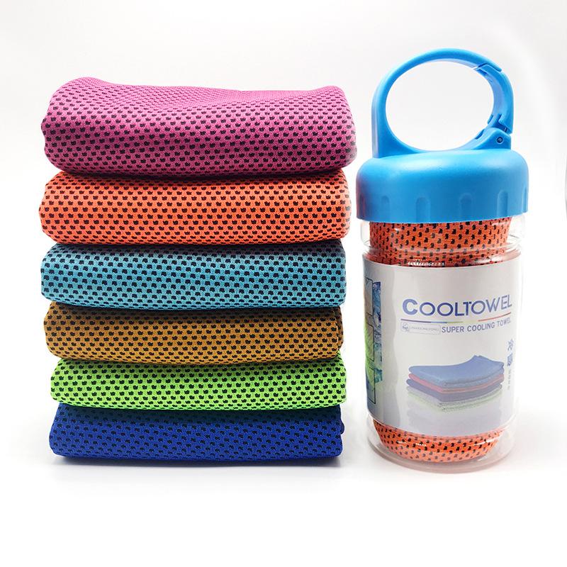 厂家直销冷感运动毛巾冰毛巾防暑降温神器礼品冰凉巾定制印logo