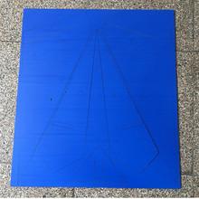 纸飞机板材批发1米翼展固定翼航模  KT板纸飞机 彩色冷板空机板材