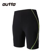 跨境#15505男士夏季吸湿排汗快干夜跑步健身高弹力紧身五分短裤