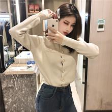 春季女装新款时尚2019修身长袖小外套小香风韩版针织开衫毛衣