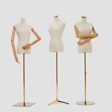 女半身模特服装店模特道具韩版半身女装模特衣架 平头