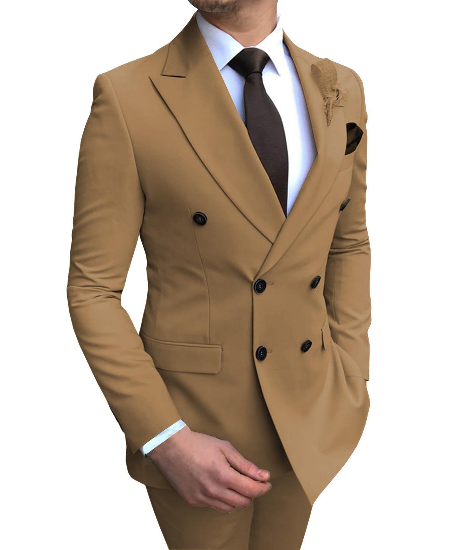 西服套装男士两件套伴郎服装婚礼礼服男西装套装修身韩版正装新款