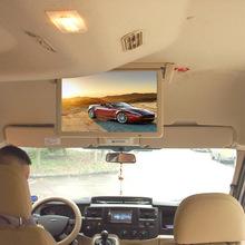 19寸电动翻转车载显示器 大巴客车电视LED液晶车载显示器广告机