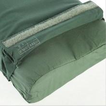 正品配发04/06式枕头海陆wj军绿色保健护颈户外单人枕头枕头套