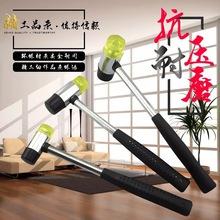 跨境厂家直销橡胶锤子多功能钢柄安装锤安装工具现货供应来样定做
