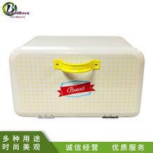 廣東廠家定制歐式面包箱 手提式帶蓋蛋糕罐 儲物箱