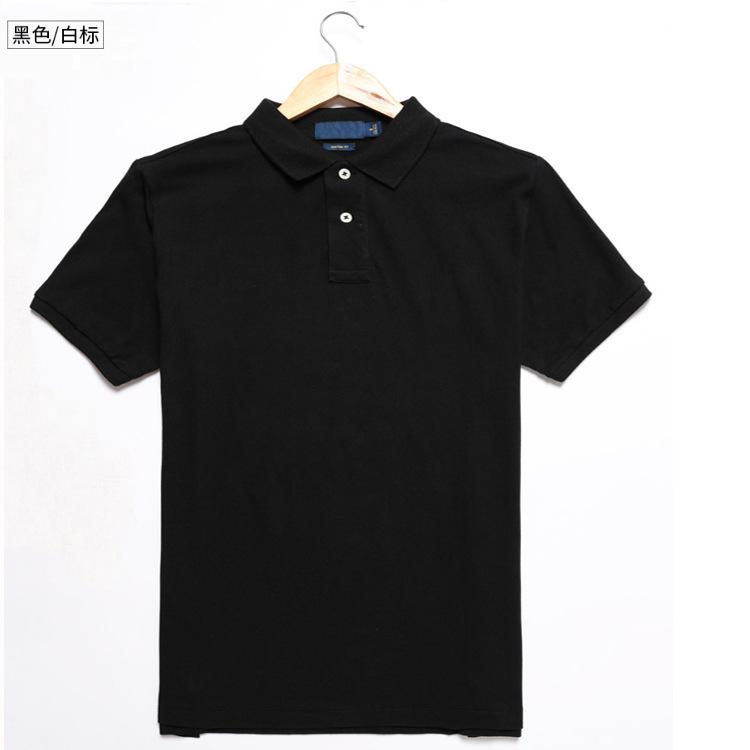 夏季爆款高尔夫男装保罗小标polo衫男式纯棉翻领短袖?#21487;?#19978;衣T恤