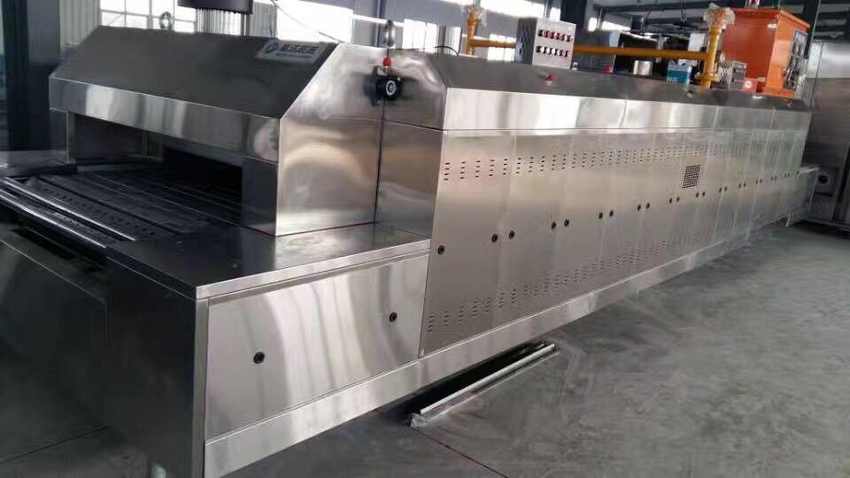 食品烘烤隧道炉_电加热天然气单单层双层智能食品烘烤隧道炉