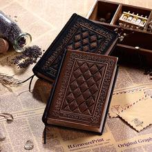 爆款爱的福音记事本子纯手工浮雕笔记本欧式复古可定制