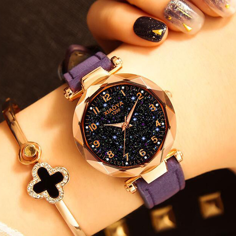 厂家直销12数字时装百搭手表男女手表防水流行手表多色可选石英表