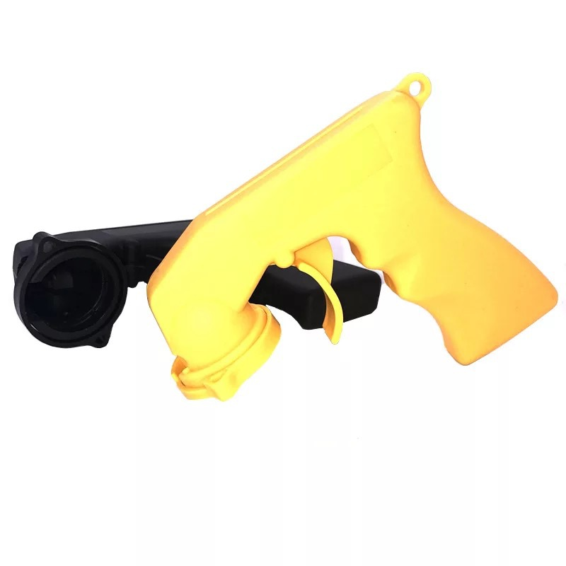 现货塑料便携式喷漆手柄 通用汽车改色贴膜自喷漆手喷枪厂家直销