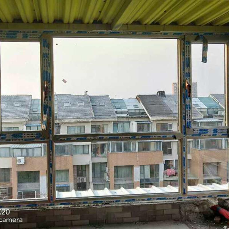 断桥铝窗纱一体平开窗隔音玻璃 封阳台卧室落地门窗铝合金门窗