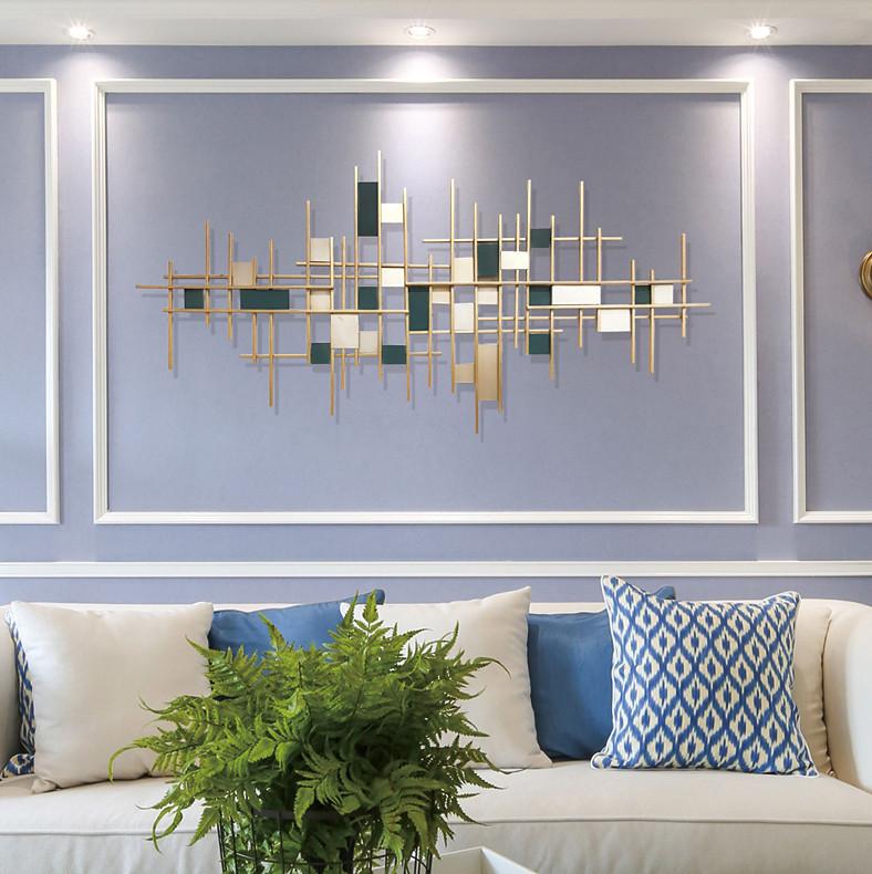 简约现代玄关墙面装饰挂件家居软装客厅沙发背景墙面铁艺饰品壁挂