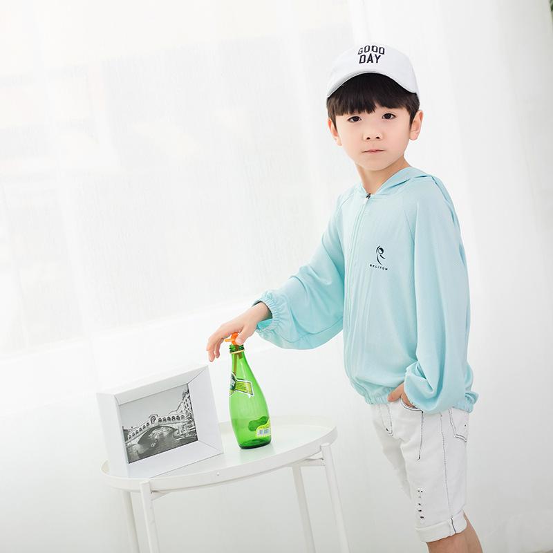 品牌童装2019夏款儿童外套中小童韩版长袖防晒衣男女童卡通皮肤衣