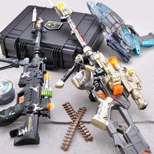 兒童電動玩具槍小孩聲光音樂手槍沖鋒搶寶寶2-3-6歲男童男孩子