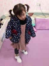 韓版0-1-2-3-4歲女寶寶棉衣外套嬰兒棉襖衣服外出冬裝加厚女童