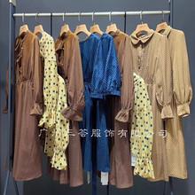 2019春夏季熱銷爆款女裝上海一線高端時尚品牌走份批發