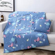 新款卡通创意抱枕被办公室午休靠枕汽车空调被子两用抱枕厂家批发