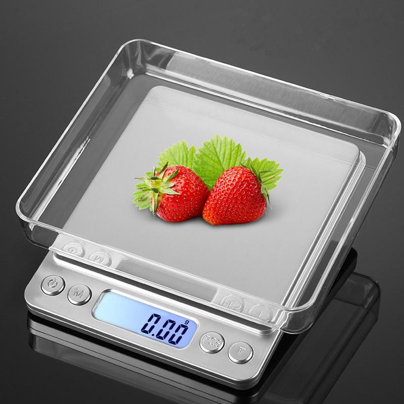 跨境熱銷i2000迷你廚房電子秤 0.01g珠寶秤500g電子稱0.1廠家批發